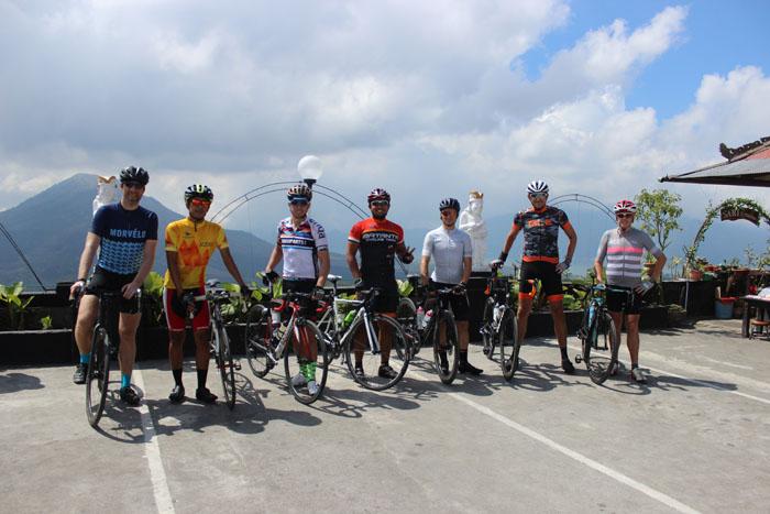 2 Days Road bike – Bali Audax Climbing route