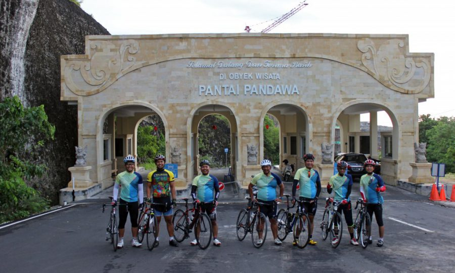 Road Bike – The area south of Bali