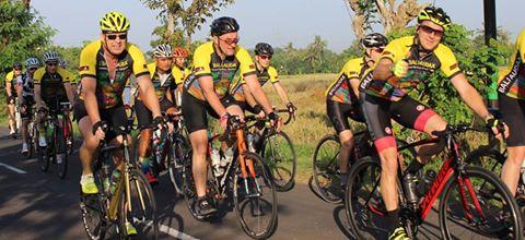 Teknik bersepeda berkelompok