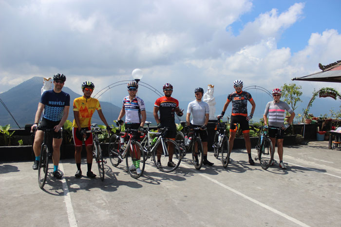 2 Days Road bike – Bali Audax Climbing route