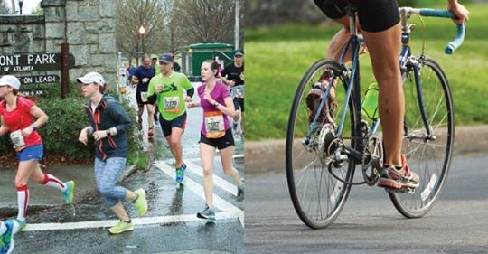 Hasil studi baru mengatakan bahwa bersepeda lebih baik daripada berlari.
